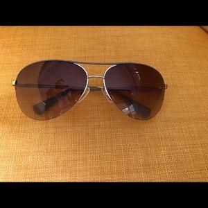 Coach aviator Taupe sunglasses- S1013